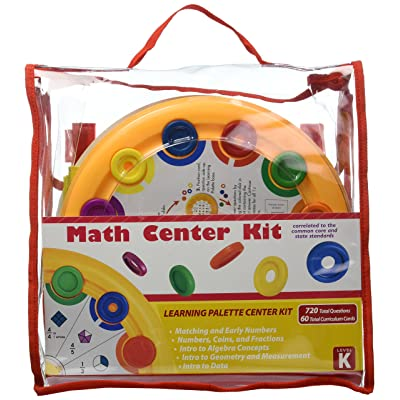 Learning Wrap-ups Kindergarten Math Learning Palette Base Center Kit: Toys & Games
