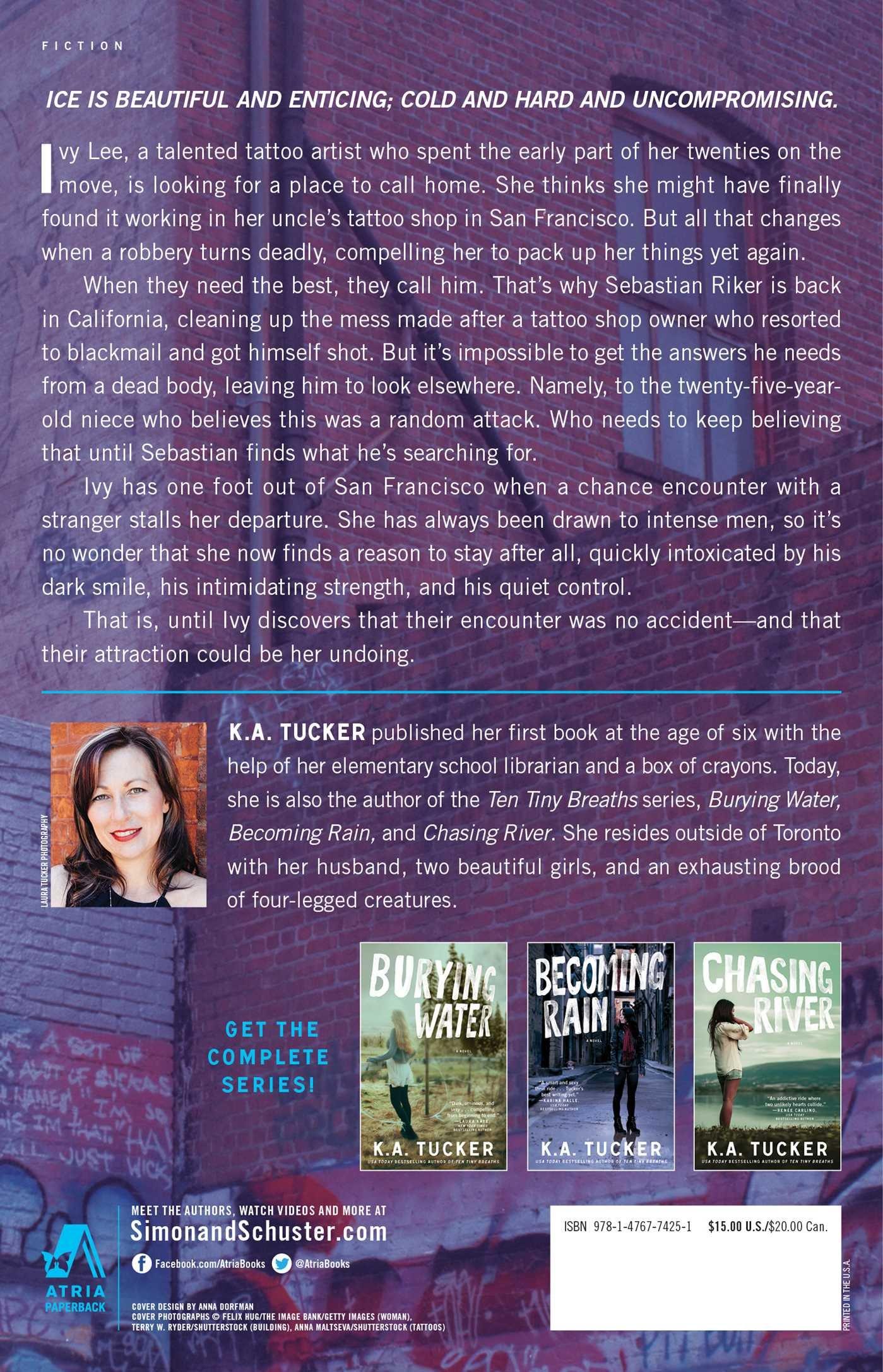 Surviving Ice: A Novel (the Burying Water Series): Ka Tucker:  9781476774251: Amazon: Books