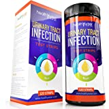 Urinary Tract Infection Urine Test Strips 120ct, UTI Test Kit Detects Leukocytes and Nitrite and pH reading, Urinalysis Strips for Home Testing