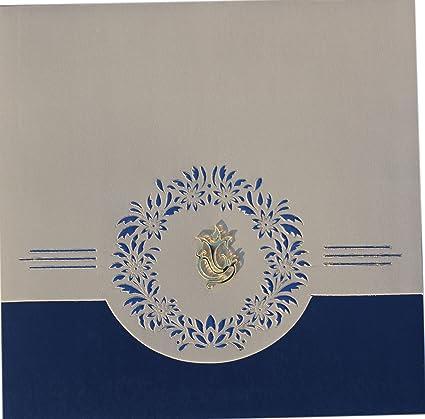 Wedding Card Nimantran Patrika Wedding Anniversary Card Ganpati Bappa Printed Designs Celebration Wedding Bells Shadi Ka Nimantran Patra Impression