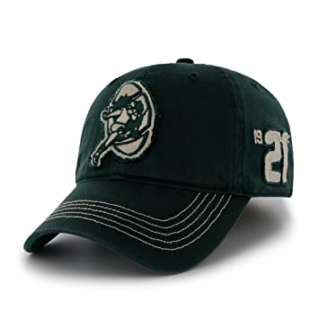 0f7e0136a4b Green Bay Packers 47 Brand NFL Throwback Badger Green Franchise Flex Fit Hat