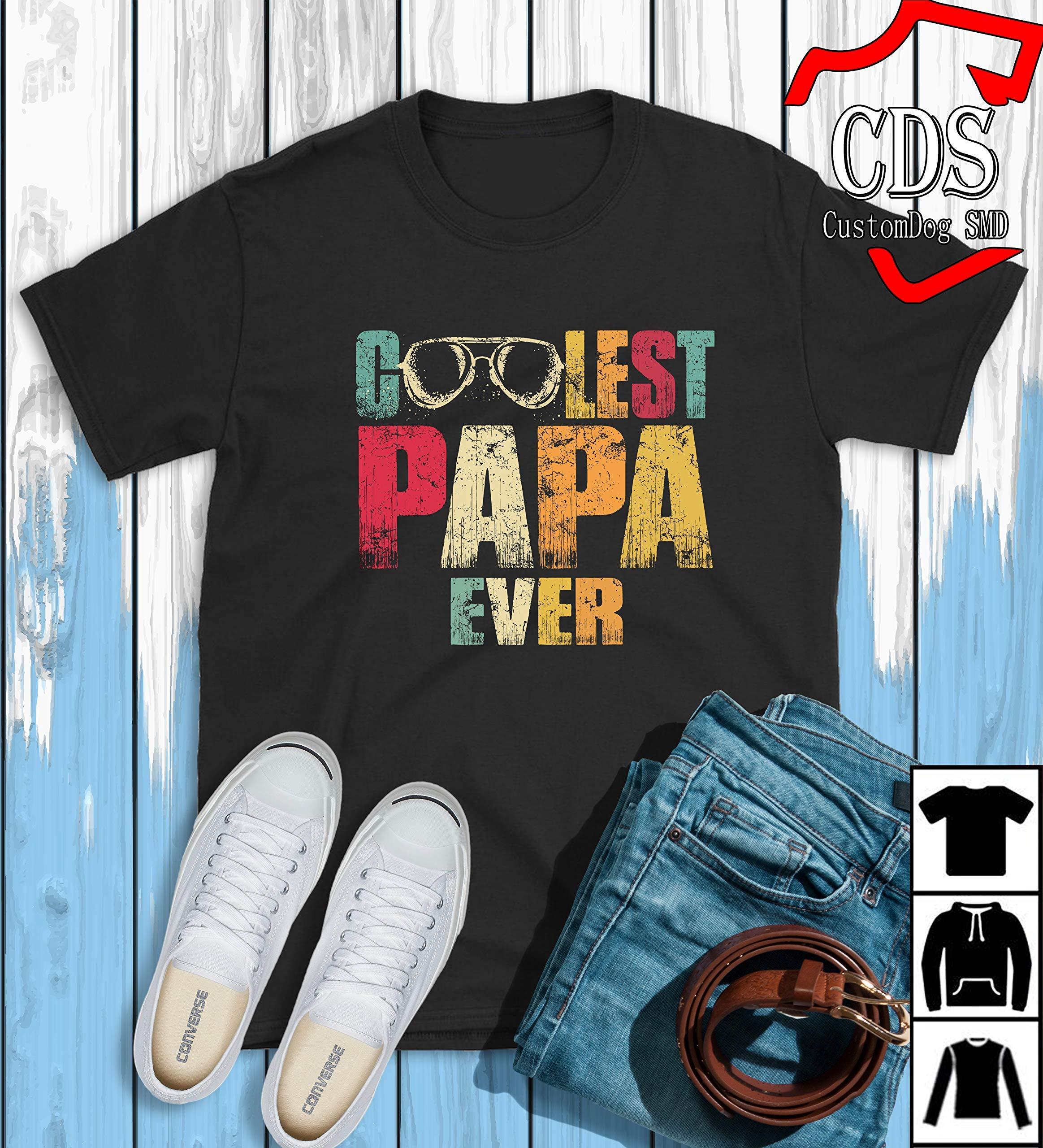 Goolest Papa Ever T-shirt, Birthday Gift Shirt, Gift Shirt,