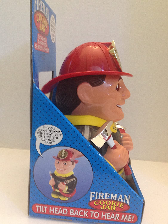 Fireman Cookie Jar