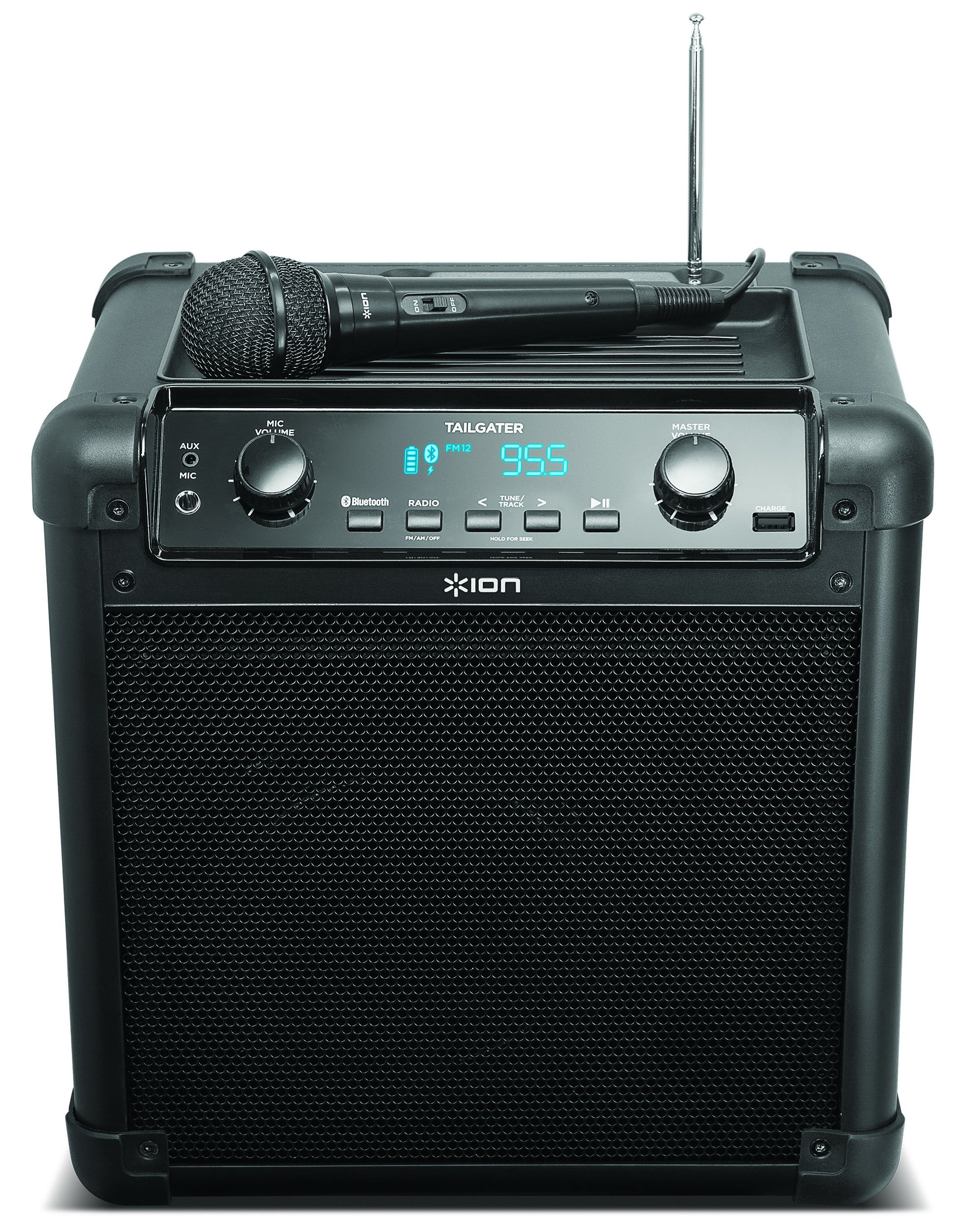 ION Audio Tailgater (iPA77) | Portable Bluetooth PA Speaker with Mic, AM/FM Radio, and USB Charge Port by ION Audio (Image #5)
