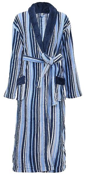 Amazon.com: De los hombres traje suave Plush Velvet Terry ...