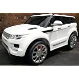 Kids Range Rover HSE Sport Style 12v Electric / Battery Ride on Car Jeep - White