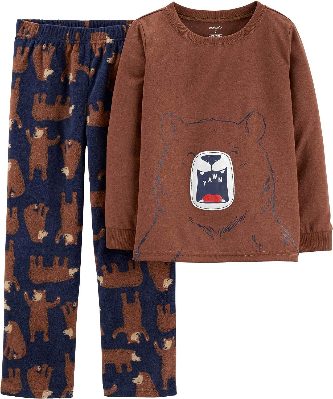 Carters 2 Piece Top and Pant Pajama Set for Boys