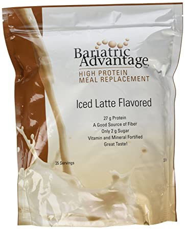 Bariatric Advantage – High Protein Meal Replacement – Iced Latte, 35 Servings