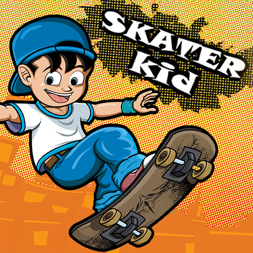 Skater Skating (Skater Kid)