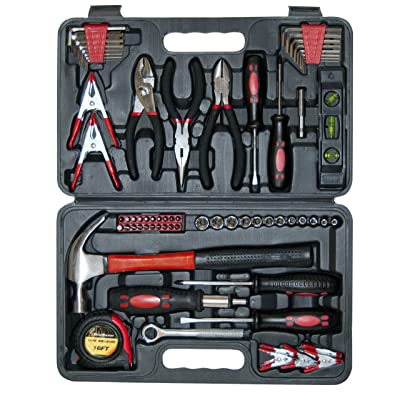 GreatNeck TK72 Home and Garage Tool Set, 72-Piece