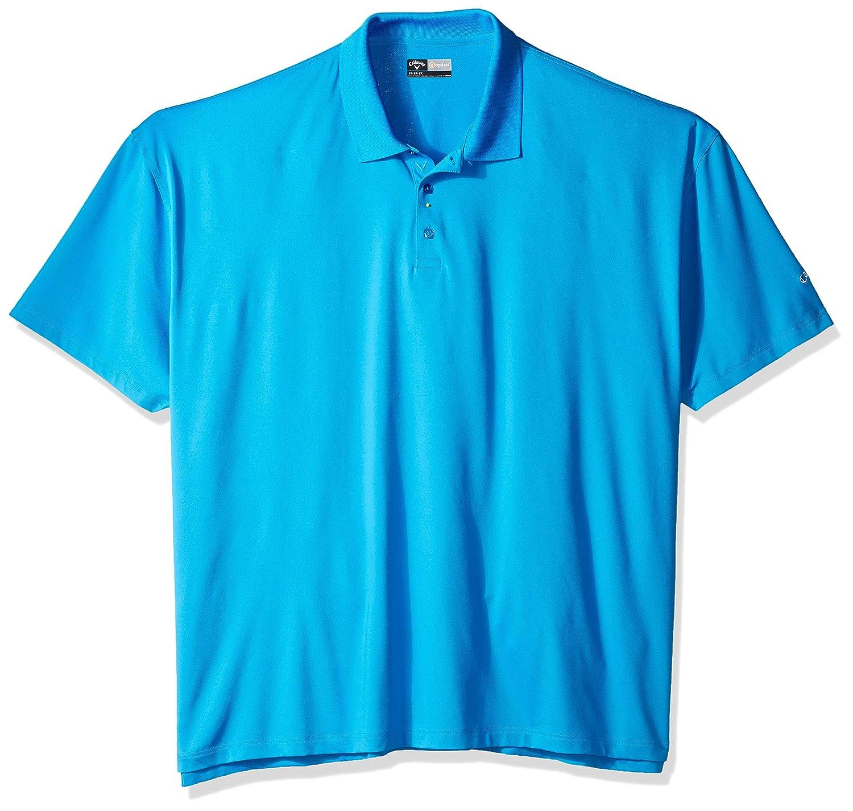 Callaway Herren Big & Tall Opti Solide Polo Short Sleeve