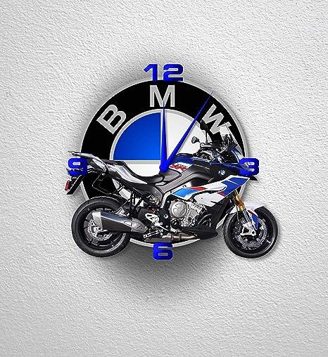 Az Graphishop Reloj de Pared 30 cm realizado en plexiglás con Adhesivo 3D decoración para Casa