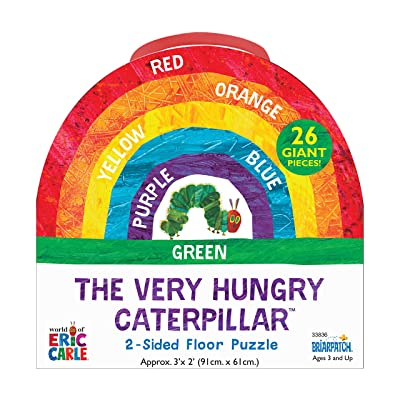 The Very Hungry Caterpillar 2-Sided Floor Puzzle: Toys & Games
