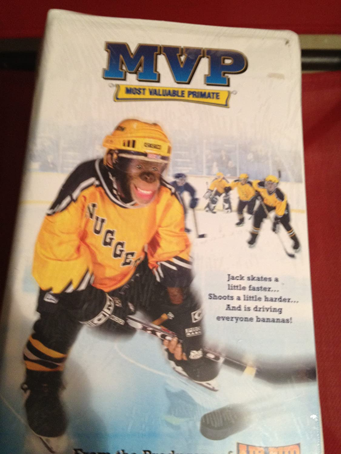 MVP: Most Valuable Primate [VHS]: Amazon co uk: DVD & Blu-ray