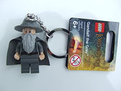 LEGO Lord of the Rings Gandalf the Grey Key Chain