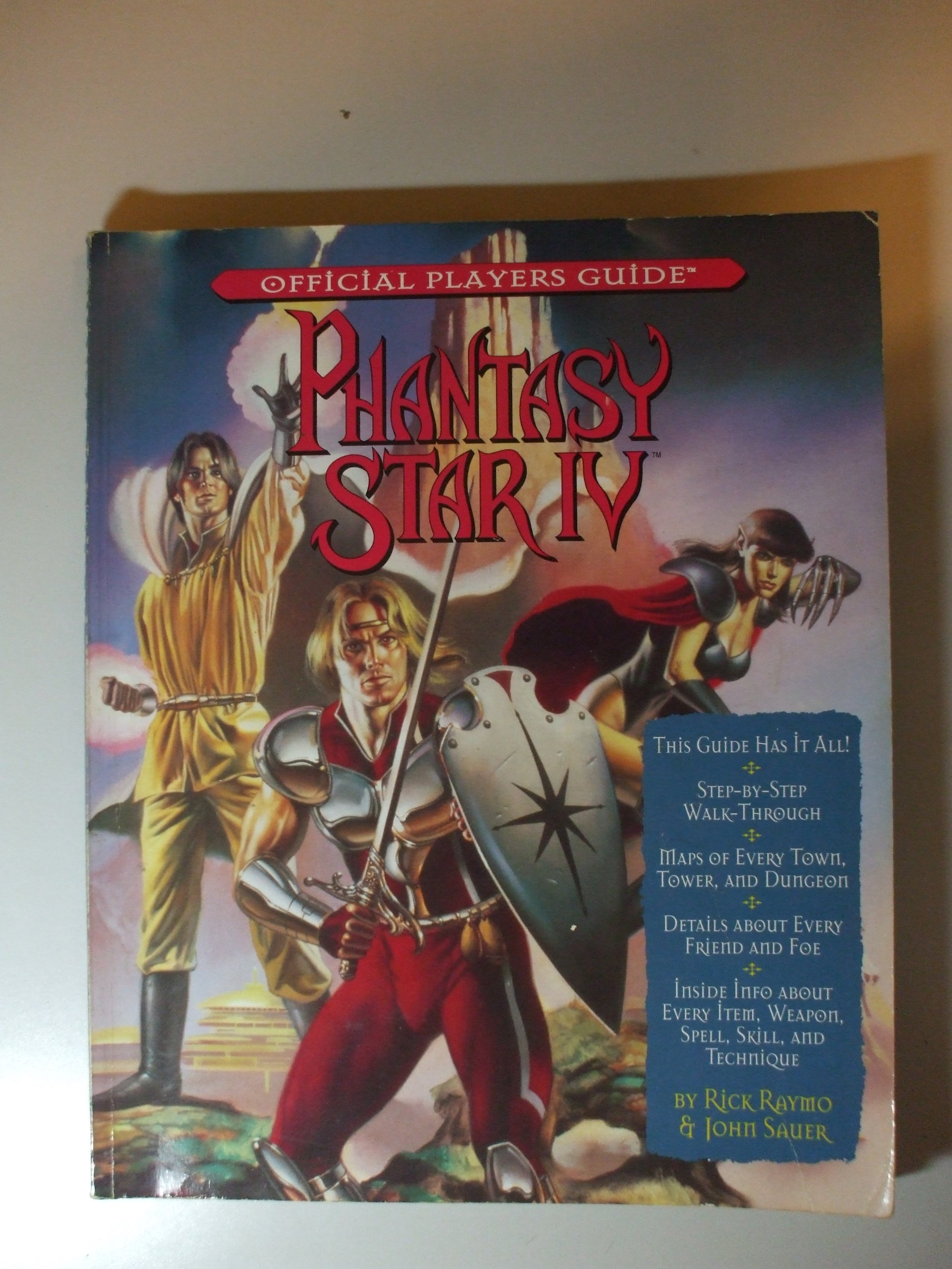 Phantasy Star IV: The End of the Millenium (Offical Players Guide)