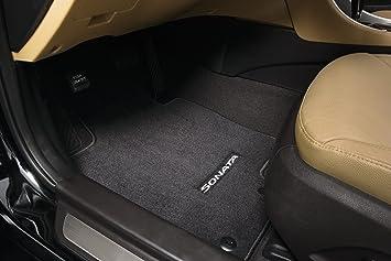 Charming Genuine 2011   2012 Hyundai Sonata / Sonata Hybrid Carpeted Floor Mats,  Cocoa