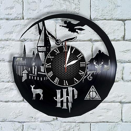 Amazon Harry Potter Decor Ideas Vinyl Clock