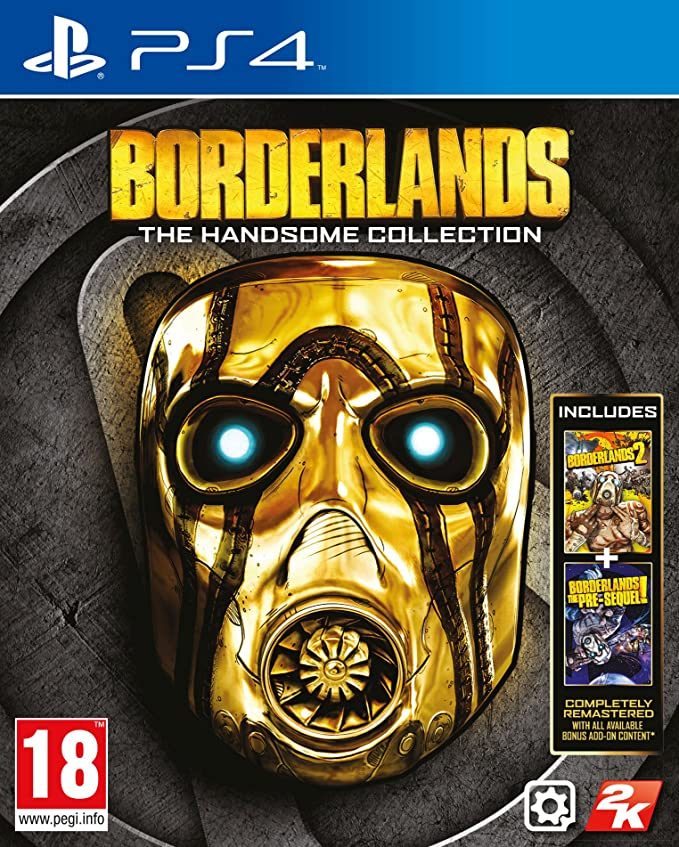 Case Only No Game Borderlands Handsome Collection Steelbook