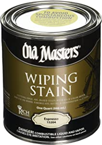Old Masters 15204 Qt Espresso Wiping Stain 240