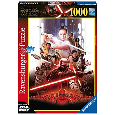 Ravensburger Star Wars IX The Rise of Skywalker 1000pc Jigsaw Puzzle: Toys & Games