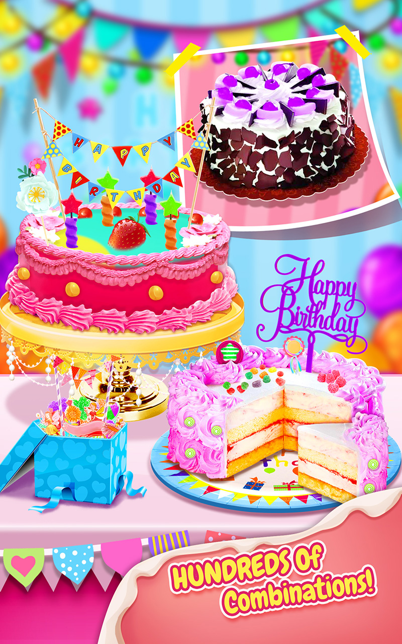 Imagechef Birthday Cake Maker : Sweet Birthday Cake Maker: Amazon.com.au: Appstore for Android