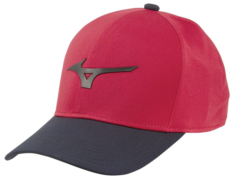 Amazon.com   Mizuno 2018 Runbird Snapback Cap Red black a9e48e5166f