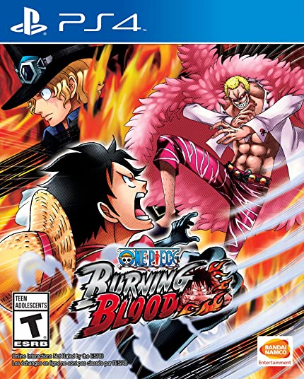 Amazon.com: One Piece: Burning Blood: PlayStation 4: Bandai ...