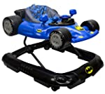KidsEmbrace Batman Baby Activity Walker, DC Comics Car, Music and Lights, Blue, 5501BAT