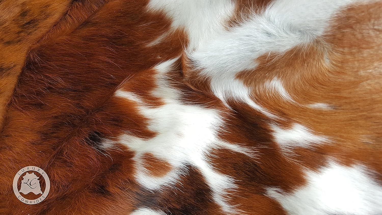 Brindle Tricolor Cowhide Rug XL Approx 6-6.5ft x 8-7.5ft 180cm x 240cm Sunshine Cowhides TB5203SC