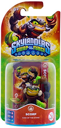 NEW! SKYLANDERS Swap Force SCORP action figure toy PS3 PS4 Wii XBox One