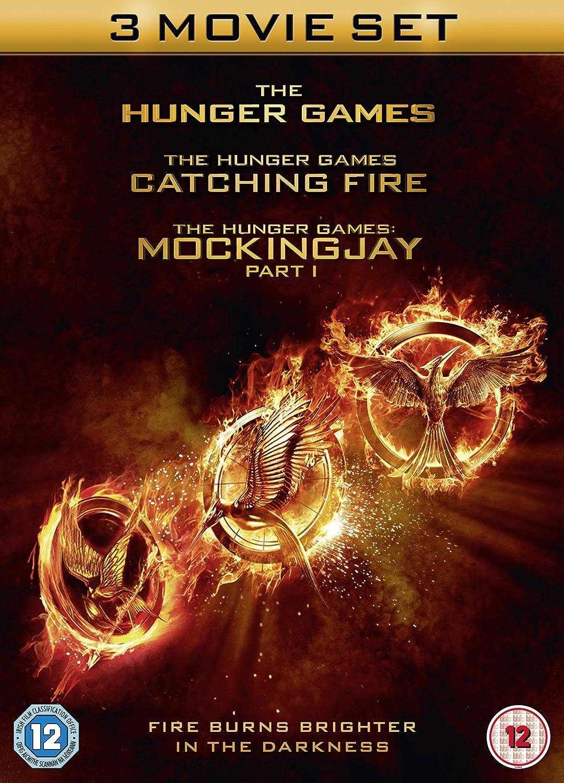The Hunger Games Catching Fire Mockingjay Part I 3 Dvds Uk Import Jennifer Lawrence Josh Hutcherson Liam Hemsworth Julianne Moore Woody Harrelson Dvd Blu Ray