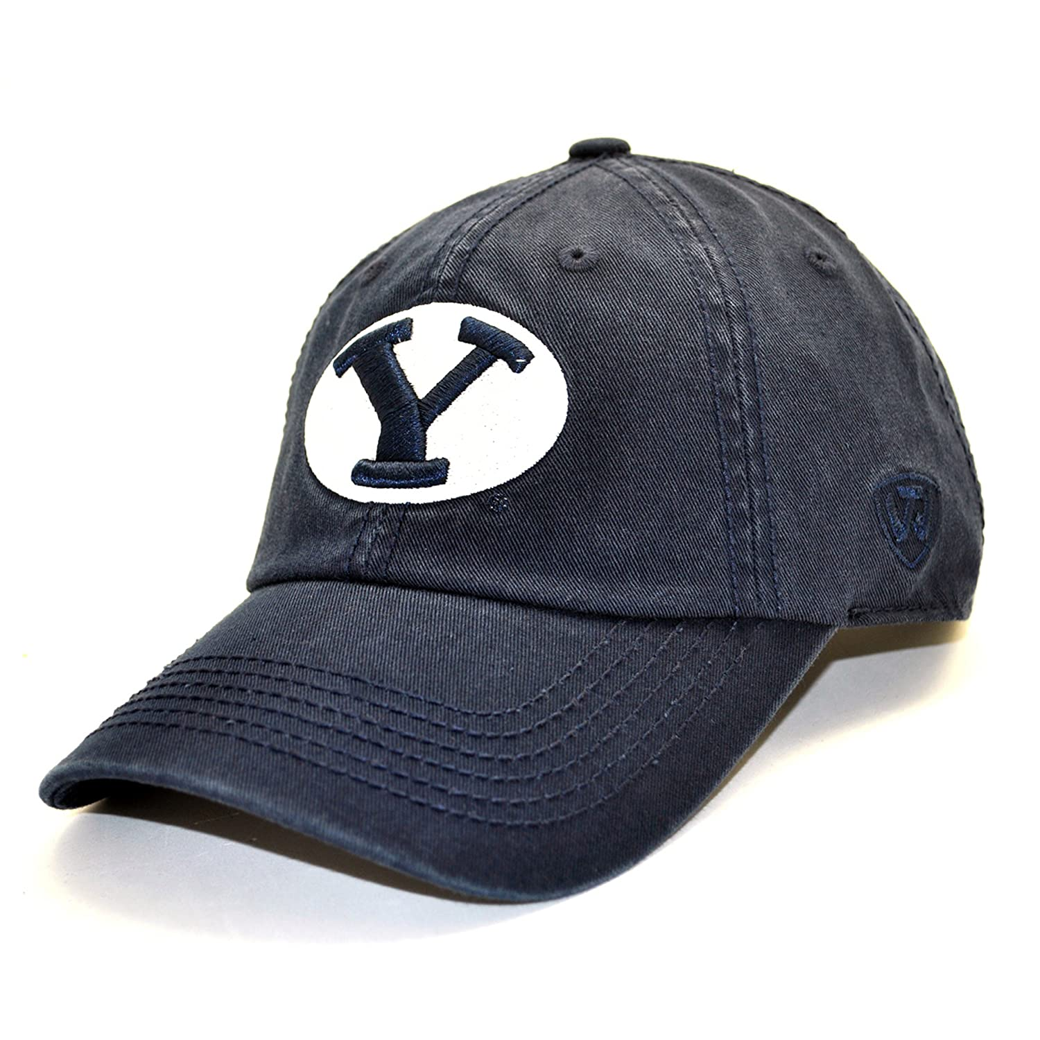 Amazon.com   BYU Cougars Crew Hat   Baseball Caps   Sports   Outdoors 0dc1190ac02