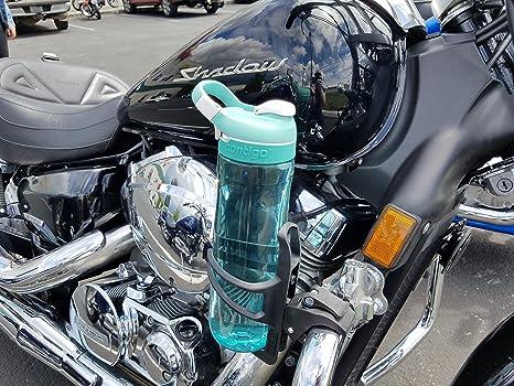 drink2go abrazadera cualquier lugar soporte para tazas 2 Pack - para motocicletas, barcos, quads, scooter y ATV - stretch-fits tallas de copa - 90 Grado ...