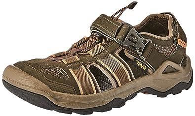 a4908c4b66d2 Teva Men s M Omnium 2 Sport Sandal Black Olive 12 ...