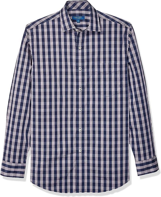 Cole Haan Signature 可汗 弹力棉 男式格纹长袖衬衫 1.8折$16.13起 海淘转运到手约¥125