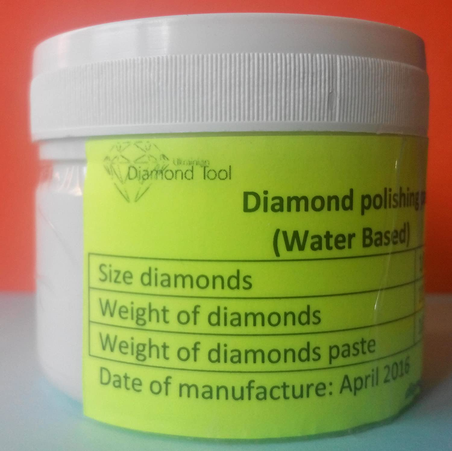 Normal Concentration Diamond Water-Based polishing Paste 1.0 Micron 100g