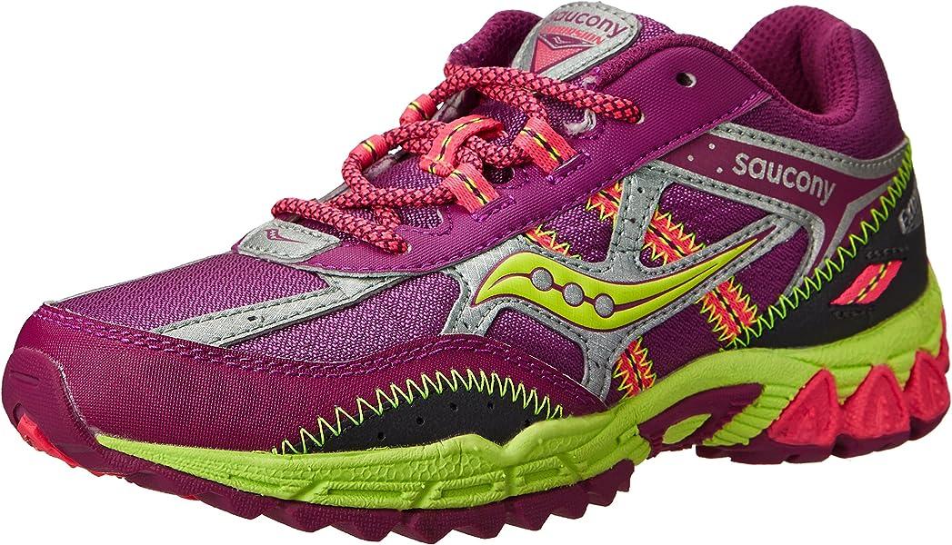 79dae9e84388 Saucony Girls Excursion Running Shoe (Little Kid Big Kid)