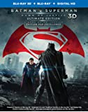 Batman v Superman: Dawn of Justice [3D Blu-ray + Blu-ray + Digital Copy] (Bilingual) Ultimate Edition (Extended Cut)
