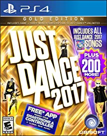 Amazon.com: Just Dance 2017 Gold Edition - PlayStation 4 ...