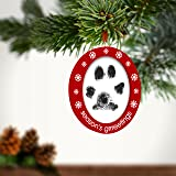 Pearhead Pawprints Double-Sided Holiday Photo