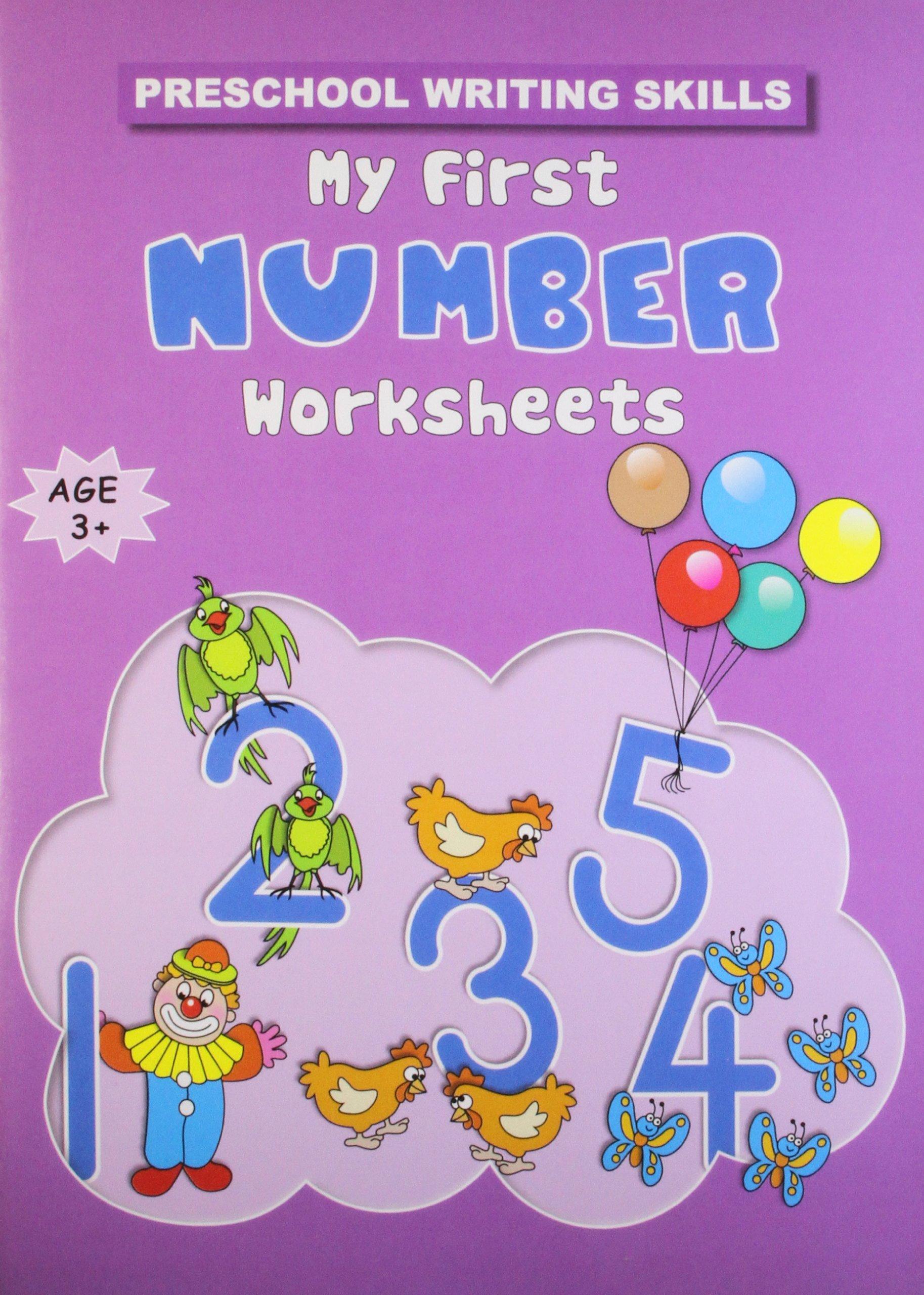 buy my first number worksheets preschool writing skills book