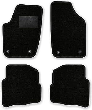 Bär Afc Vw04319 Ideal Auto Fußmatten Nadelvlies Schwarz Rand Kettelung Schwarz Trittschutz Kunststoff Set 4 Teilig Passgenau Für Modell Siehe Details Auto