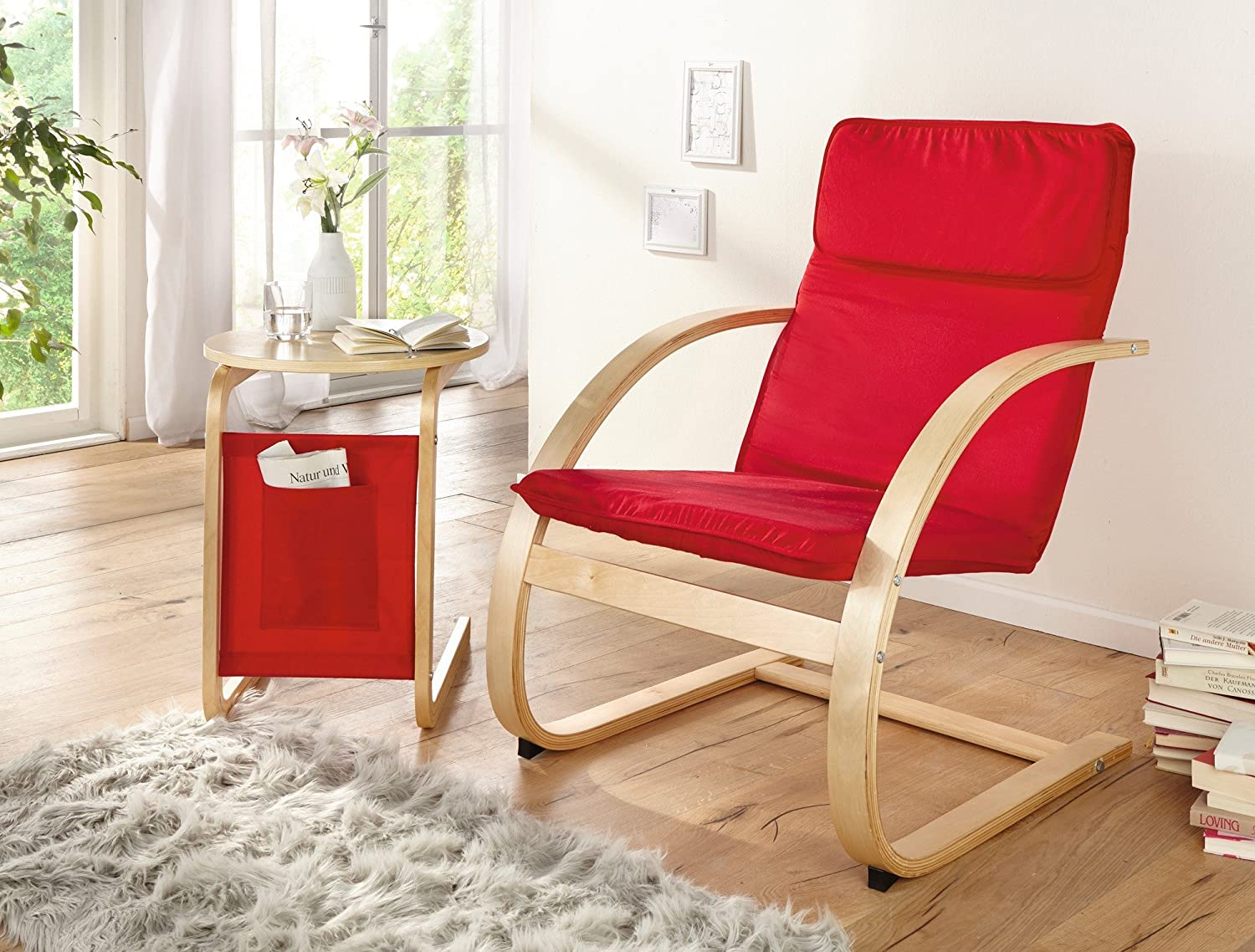 Relax Silla Red
