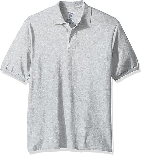 TALLA 4XL. Jerzees Hombres Manga Corta Camisa Polo