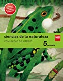Ciencias de la naturaleza. 5 Primaria. Savia. Madrid [LOMCE]