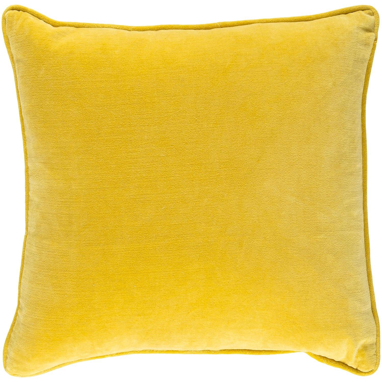 Artistic Weavers saff-7202は適用ベニバナAlly枕カバー18 ' x 18 'イエロー正方形、イエロー   B01MG1NINO