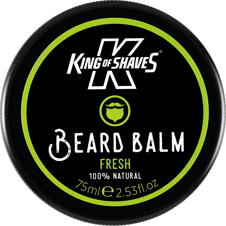 King of Shaves Beard Balm Fresh - Natural Beard Balm 75ml The King of Shaves Company 10125408A
