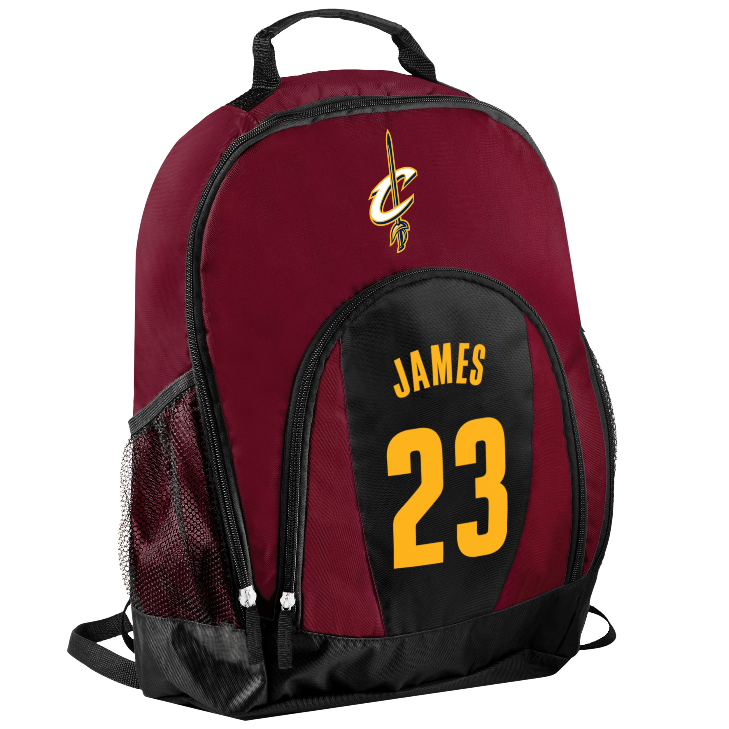 TBFC Cleveland Cavaliers Primetime Backpack School Gym Bag - Lebron James #23 by TBFC