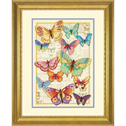 a7ed497442a9c Amazon.com: Dimensions Gold Collection Counted Cross Stitch Kit ...